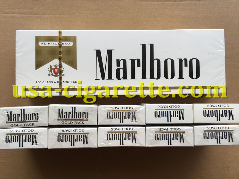 Marlboro Gold Cigarettes 10 Cartons