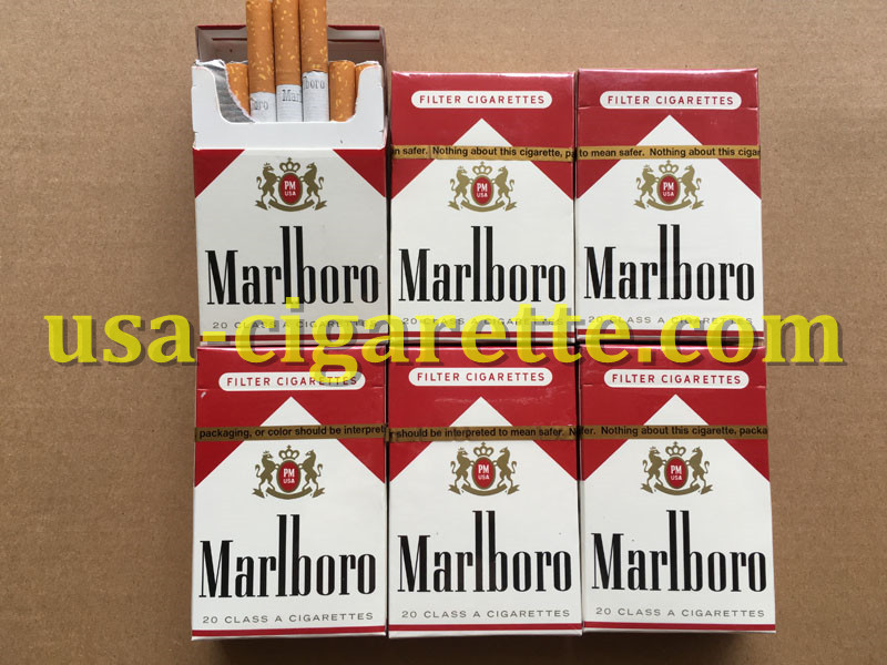 Marlboro Red Cigarettes 10 Cartons