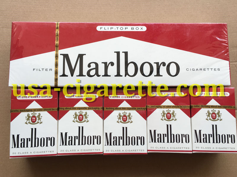 Marlboro Red Cigarettes 80 Cartons