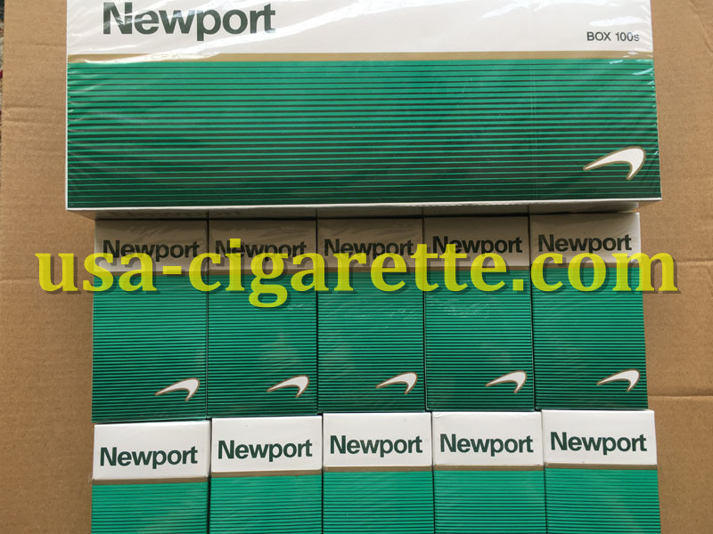 Newport BOX 100s Cigarettes 100 Cartons