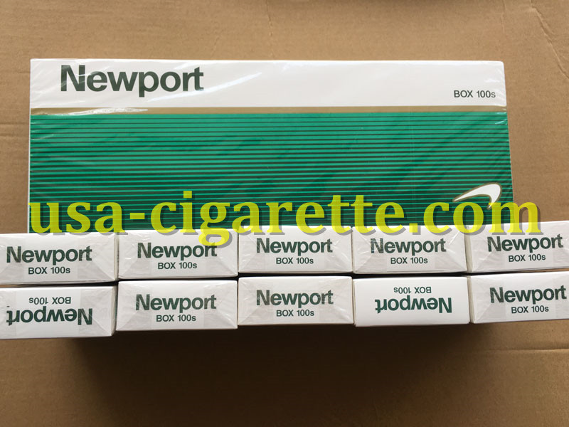 Newport BOX 100s Cigarettes 50 Cartons