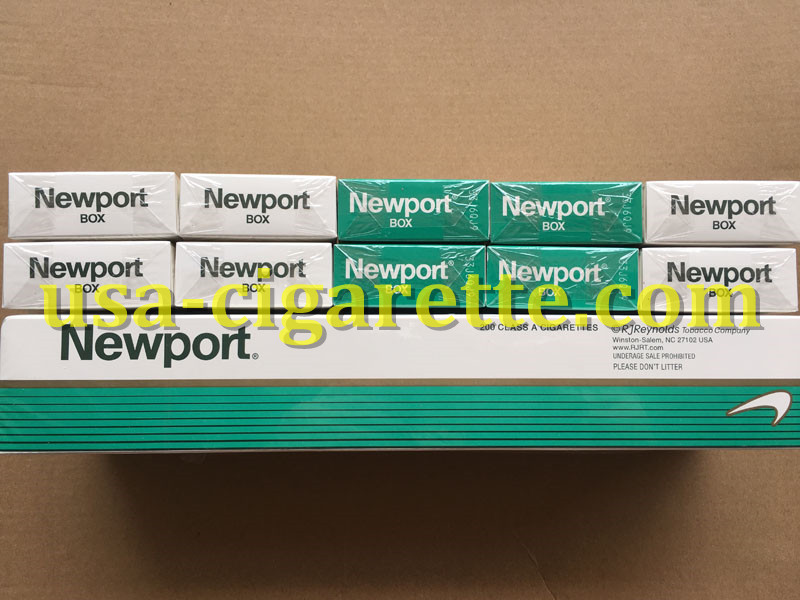Newport BOX Cigarettes 10 Cartons