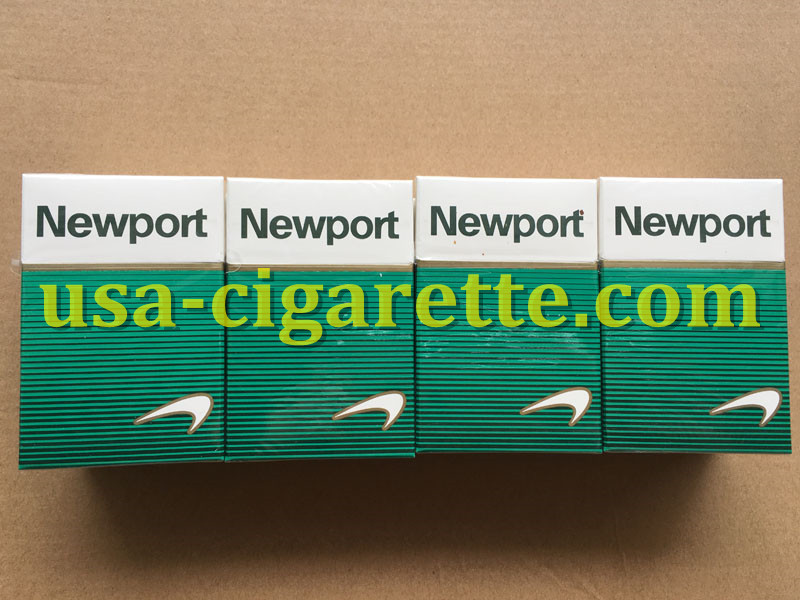 Newport BOX Cigarettes 3 Cartons