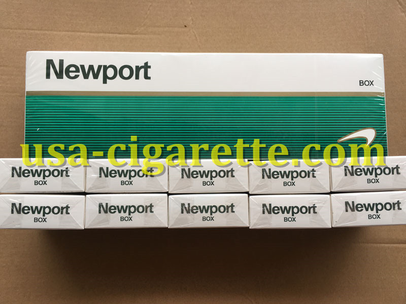 Newport BOX Cigarettes 30 Cartons