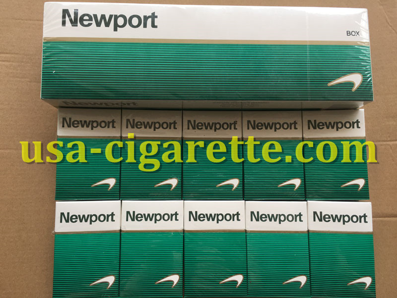 Newport BOX Cigarettes 80 Cartons